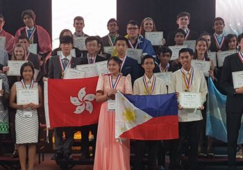 DepEd Cavite, DepEd Bacoor, bag awards in ISWEEEP 2017