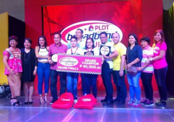 Lontoc, Nera sweep PLDT Home Broadband Contest